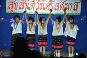 kids show in village