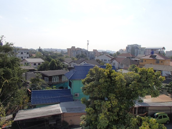 View of the city from my balcony