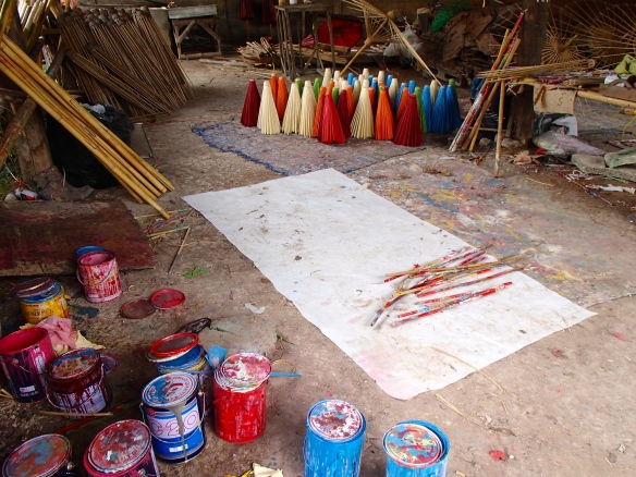 Artist workshop in Bo Sorng