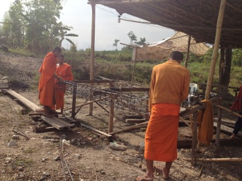 novices construction Wiang Haeng