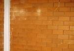 Bud brick construction up close